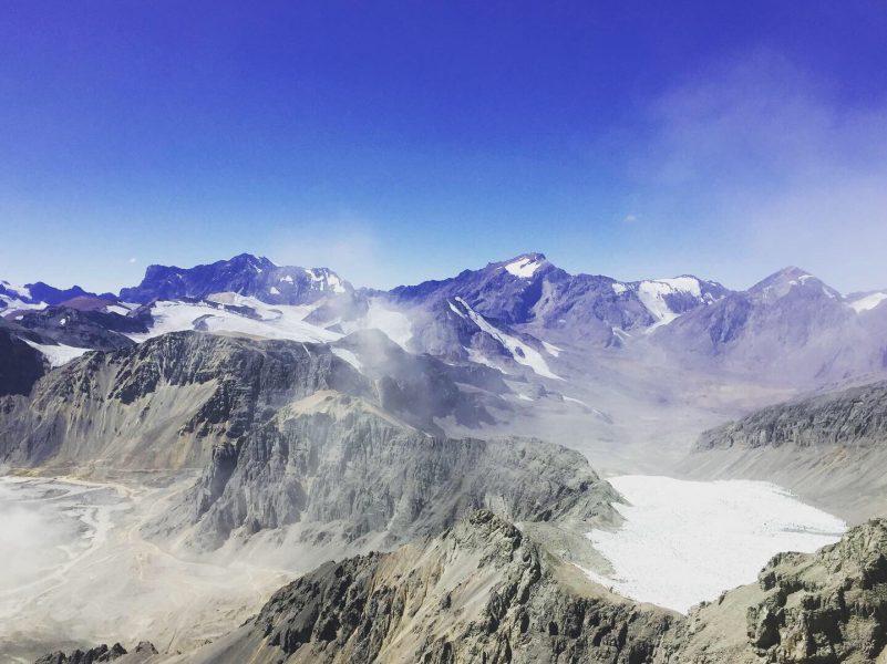 Material Particulado y los Glaciares Olivares