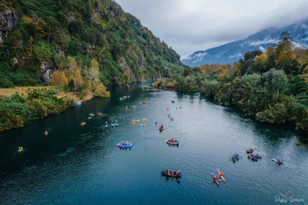 Flotada en río Calcurrupe