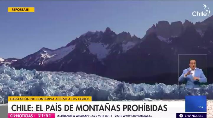 Reportaje CHV – CNN: Chile, el país de las montañas prohibidas