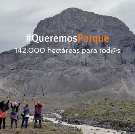 #QueremosParque, la campaña que busca crear el primer Parque Nacional para la Región Metropolitana.