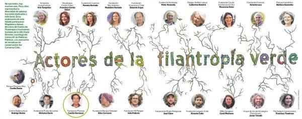 Radiografía de la filantropía ambiental chilena