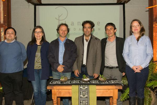 Camilo Hornauer y autoridades de la Región de Los Ríos